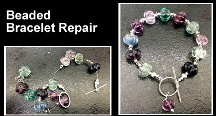necklace and bracelet restringing