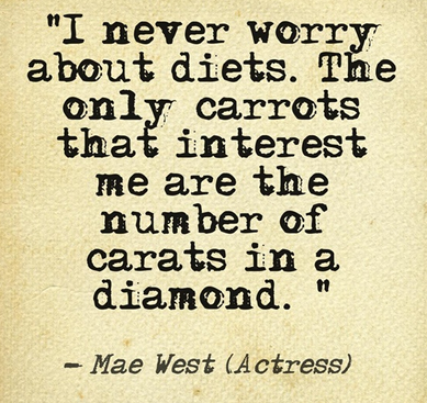 Mae West Jewellery Quote