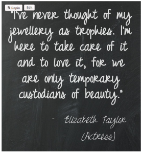 elizabeth jewellery quotation