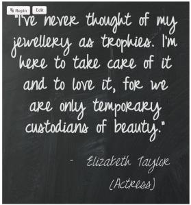 elizabeth jewellery quotation
