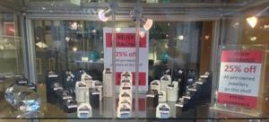 jewellery stock clearance dundee