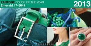emerald green pantone colour of the year