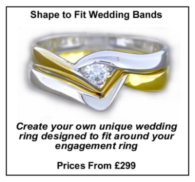 Wedding Band Shape to Fit