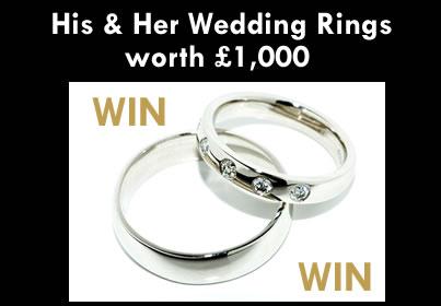 win wedding rings from jewellery doctor