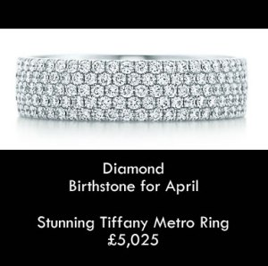 tiffany diamond april birthstone