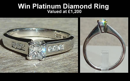 win platinum diamond ring
